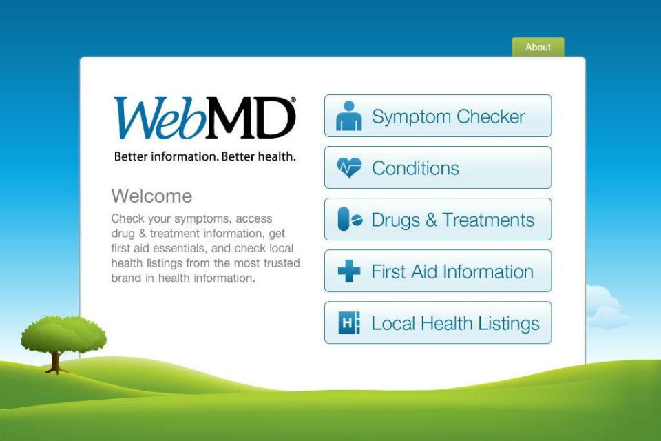 Web MD, Aplikasi kesehatan yang sangat berguna keluaran Apple
